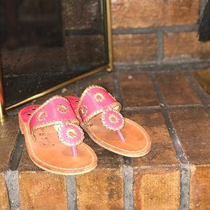 New Jack Rogers Flat Slip On Thong Sandal